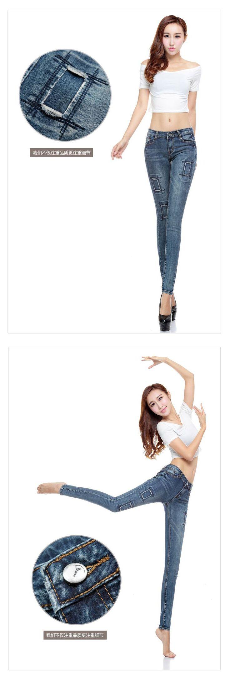 Aliexpress.com: Comprar Pencil jeans mujer Patch skinny jeans boyfriend jeans para mujeres denim pant pantalones vaqueros mujer vaqueros para mujer de pantalones vaqueros pantalones para las niñas fiable proveedores en Cheer Beauty