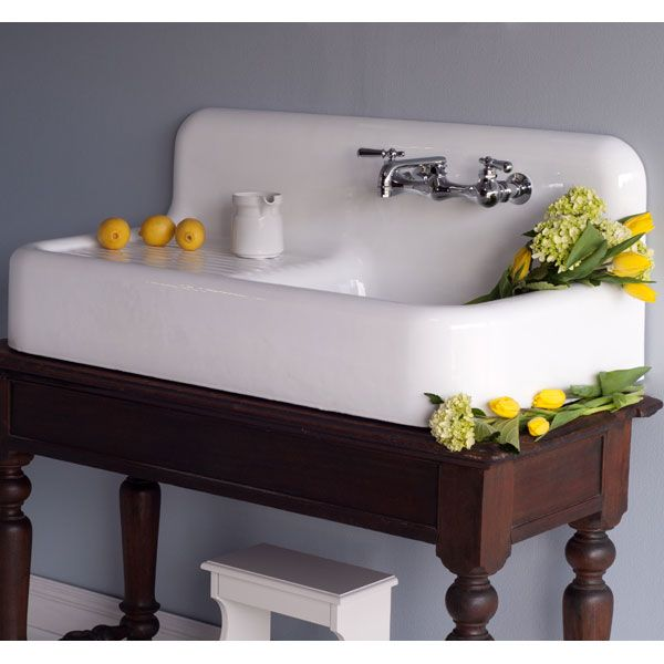 the whitney 42 cast iron and porcelain farmhouse sink with drainboard farmhouse sink on kitchen sink id=46253
