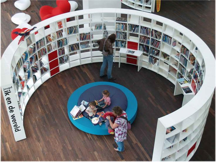 Public Library Interior Design Ideas With Round 800x600
