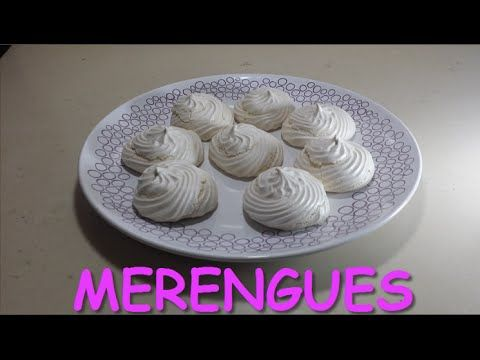 Como Hacer Merenguitos - Receta Merengue - Postre Facil - Tutorial paso a paso - YouTube