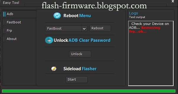 Download Easy Frp Tool Full Activated Feature: ADB Mode ADB To