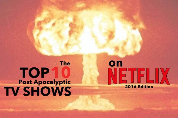 A bomb explodes in the background. the top ten post apocalyptic tv shows on netflix