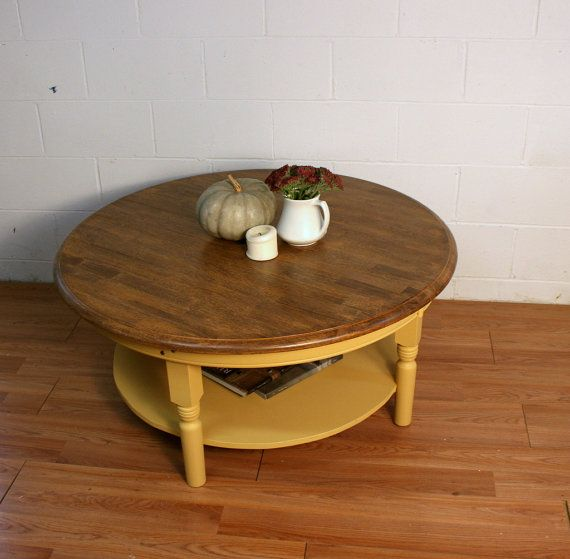 FOR JESSICA Round Coffee Table in Somerset Gold