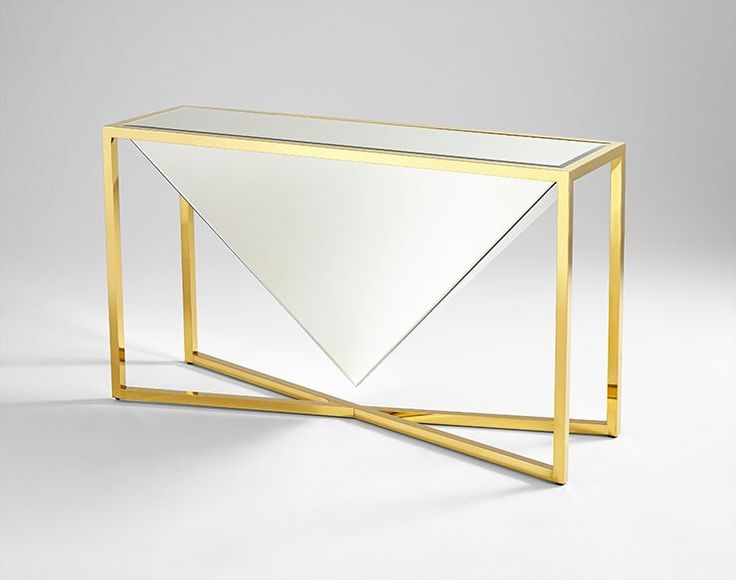 Titan Console Table design by Cyan Design