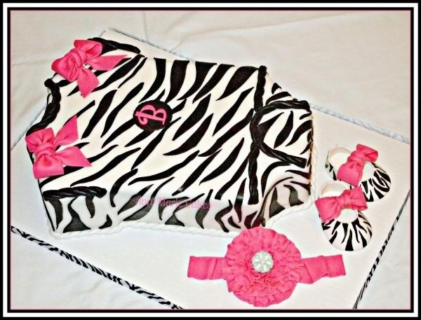 Sweet  Cakes Zebra