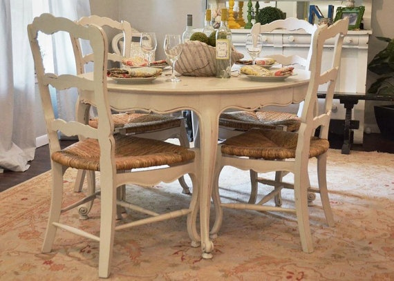 Best  French Country Dining Table Ideas On Pinterest French - French country kitchen chairs