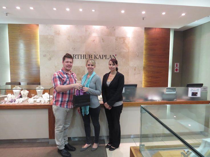Suzette Gerrie van Rooyen the winner of May's giveaway