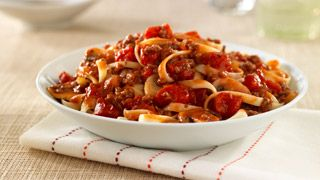 Hunt's® Beef and Mushroom Bolognese sub bulk Italian sausage for ground beef