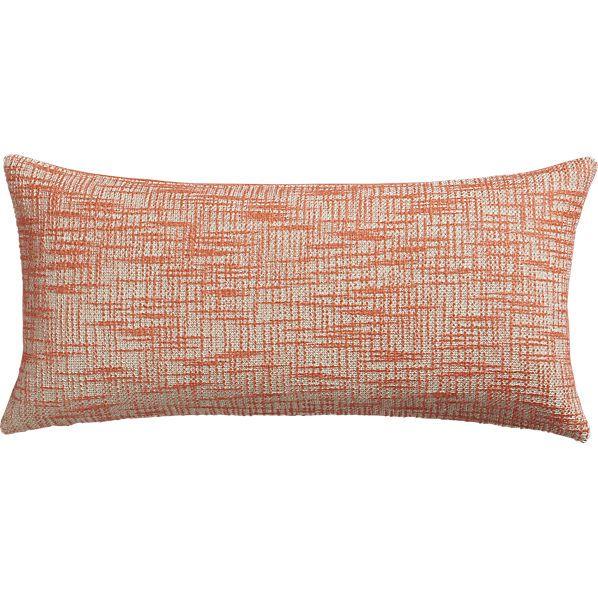 Format Orange 23 Quot X11 Quot Pillow Cb2 Pillows Couch