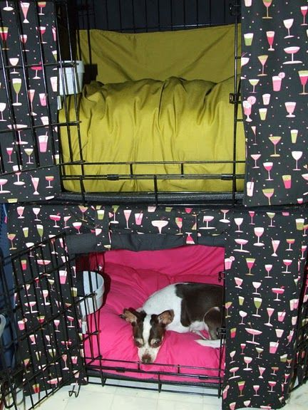 Crate Covers For Dog Crates Would Be Simple Enough To Make Just