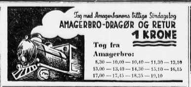 Billet fra Amagerbanen