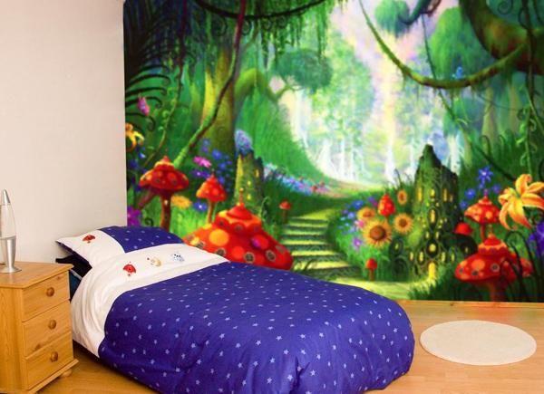 128 best mural designs for kids images on pinterest wall. Black Bedroom Furniture Sets. Home Design Ideas