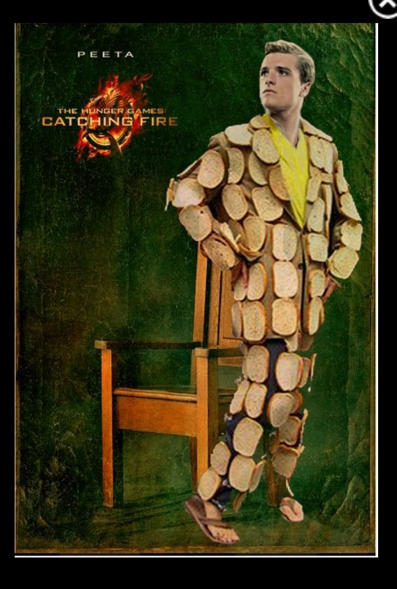 The Boy With The Bread...SUIT! Haha Hunger Games Humor - Catching Fire Humor / Funny Peeta