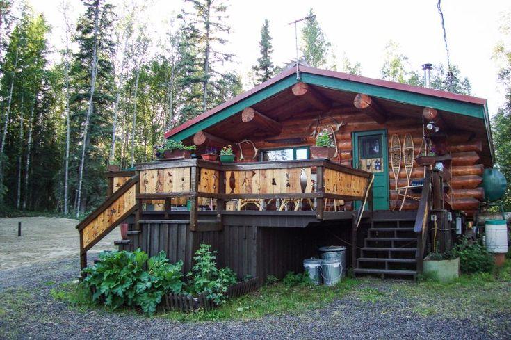 Living Off The Grid In Alaska Cabin Joy Studio Design