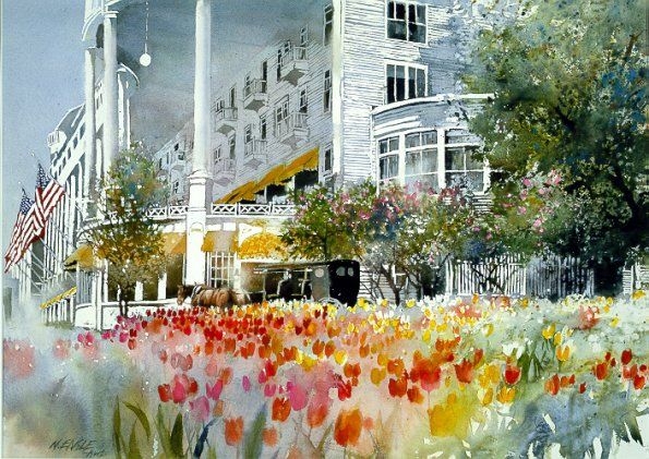 Victorian Spring by Nita Engle..The Grand Hotel on ...