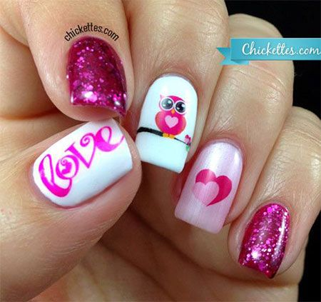Valentines Day Acrylic Nail Art Designs, - 41 Best Valentine's Day Acrylic Nail Art Images On Pinterest