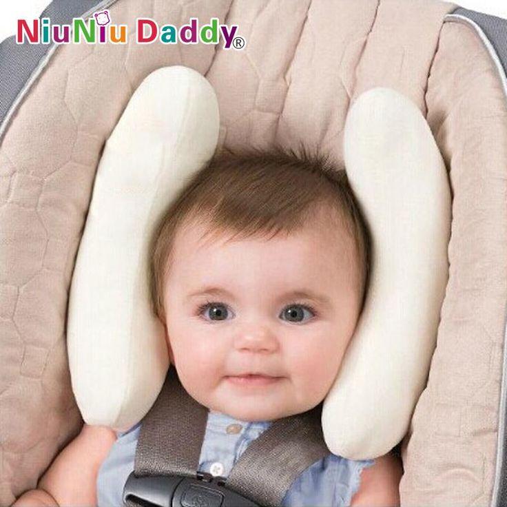Encontrar Más Almohadas Información acerca de Bebé ajustable protección de la cabeza Anti roll almohada del bebé bebés cuello almohada de viaje cochecito del asiento de coche asiento de seguridad para niños almohada, alta calidad asiento de la granja, China asiento tacho Proveedores, barato fundas para asientos asientos de seguridad de NIUNIU DADDY BABY PRODUCT en Aliexpress.com