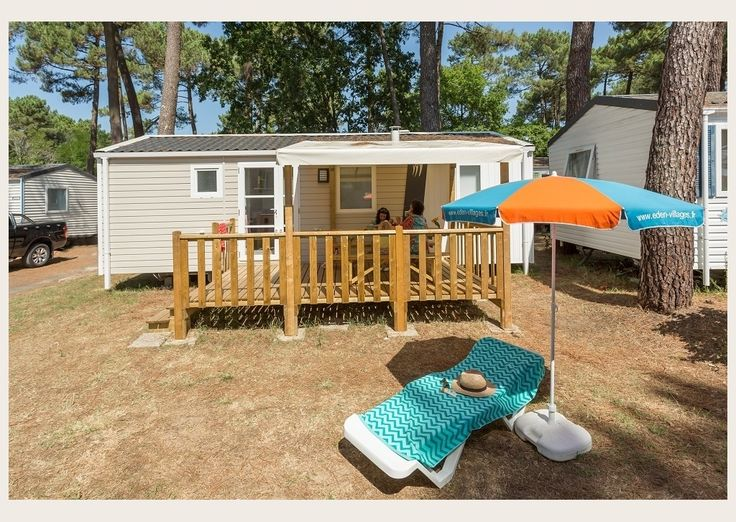 Mobil-Home FAMILY ESPACE - 4/6 personnes - Camping Palmyre Loisirs