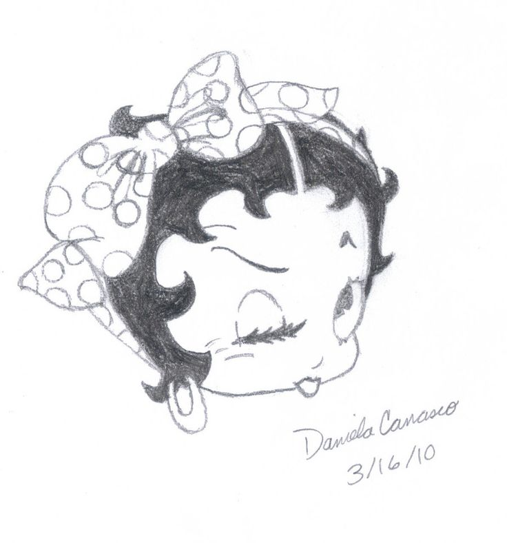 western betty boop coloring pages - photo#48