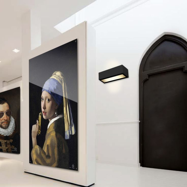 Girl with the pearl earring twist #girlwiththepearlearring #vermeer #willem #wallart #art