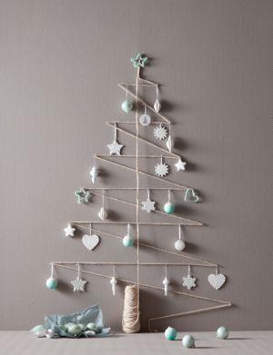 alternatieve kerstboom, makkelijk maar vooral: leuk!