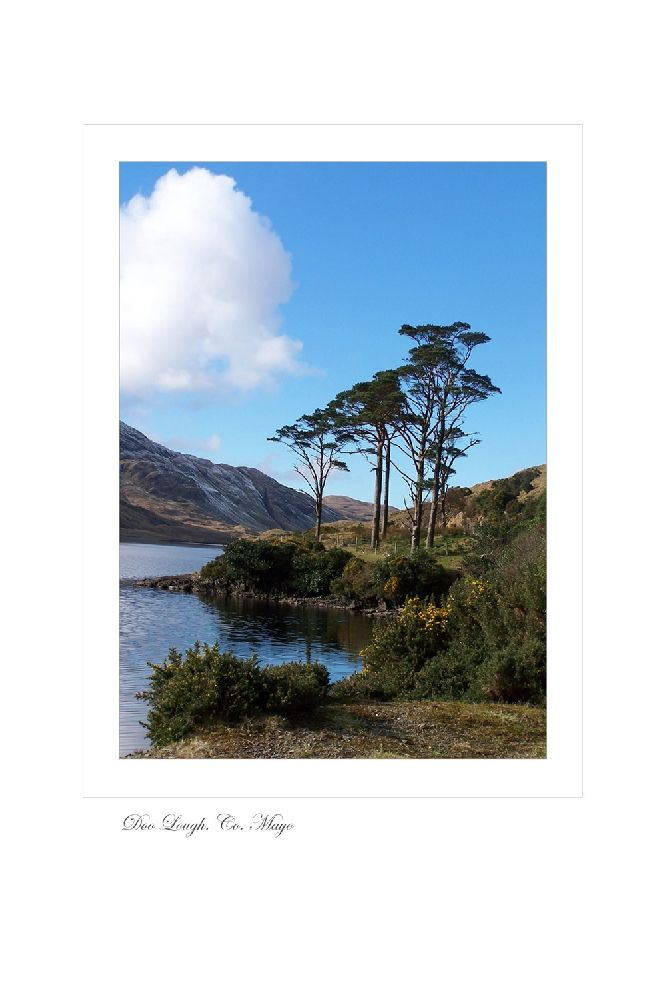 Doo Lough. Co. Mayo by Jessica Priddy on ArtClick.ie