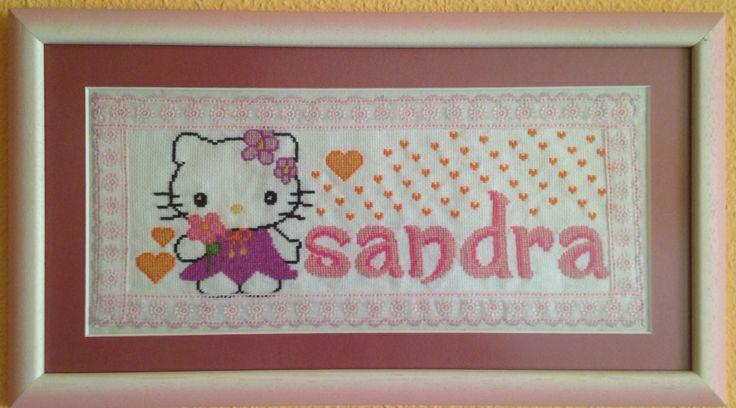 Cuadro nombre Sandra