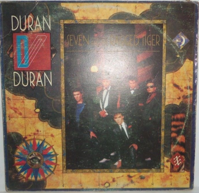 Duran Duran Seven And The Ragged Tiger Lp Hecho En Venezuela By Emi Duran Italy Poster Seventh
