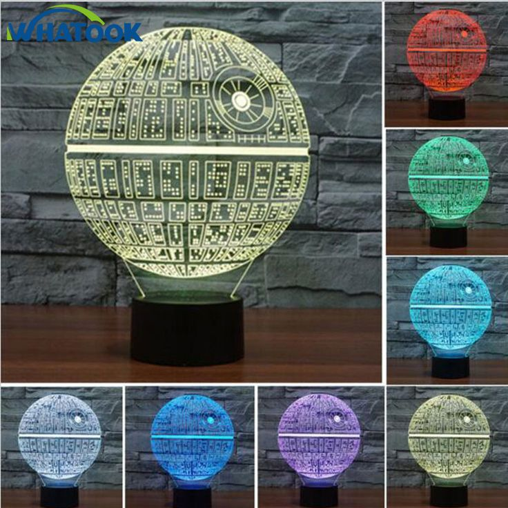 Star Wars 3D Illusion Lamp //Price: $29.99 & FREE Shipping //     #hashtag1