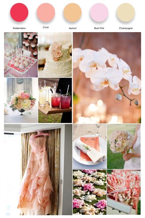 Coral Pink Palette