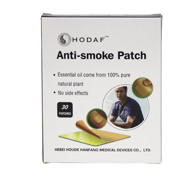 30pcs/ box Anti-Smoke Patch 4*4cm Stop Smoking Patches Health Care Product Smoking Cessation No Bad Effects For Body