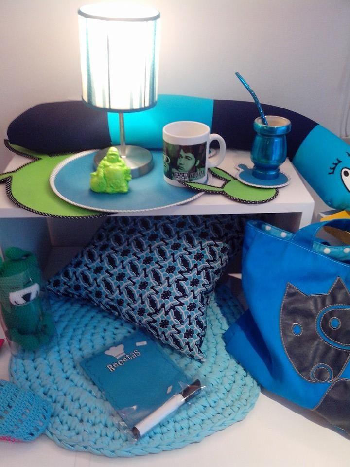 #escaparate #vidriera grupo azul