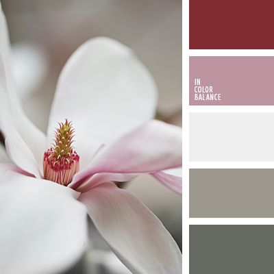 """Серо-коричневые тона этой палитры будут оттенять и придавать теплоты, изначально прохладным оттенкам лилового. Данная палитра подойдет для спальни, так как она состоит из """"спокойных"""" цветов."""