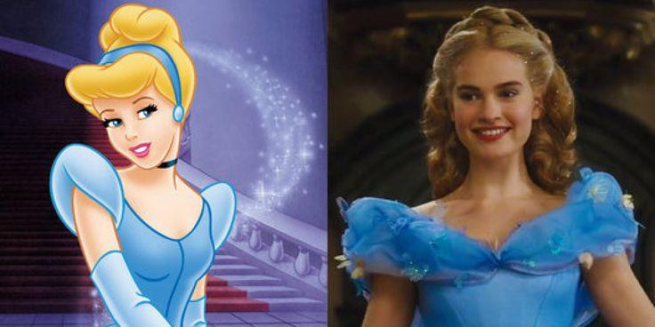Tráiler de 'Cenicienta': compara la película 'Cinderella' con la clásica de dibujos animados de Disney #authres #spanishteachers #ele