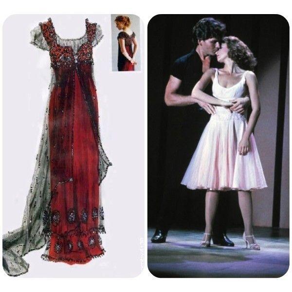 Il vestito più bello nella storia del cinema ❤ liked on Polyvore featuring titanic