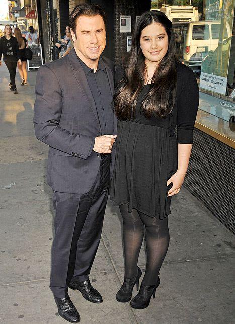 All Grown Up! Ella Bleu Travolta Joins Dad at Killing ...