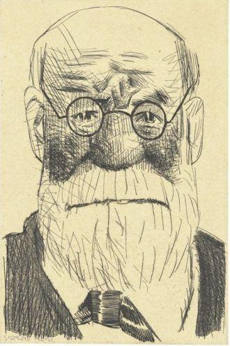 Sigmund Freud (incisione), 2002 / Tullio Pericoli