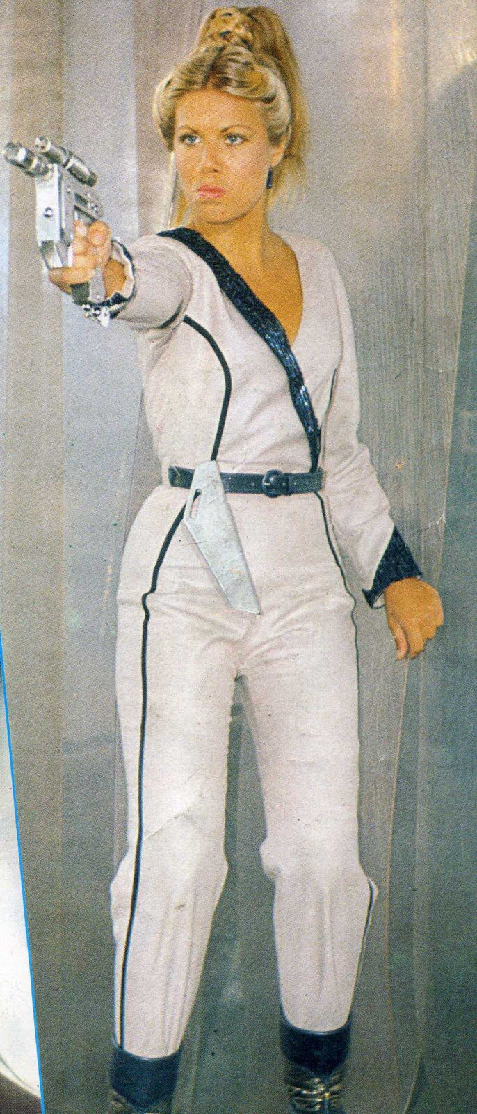 "Glynis Barber As Soolin from ""Blakes 7"""