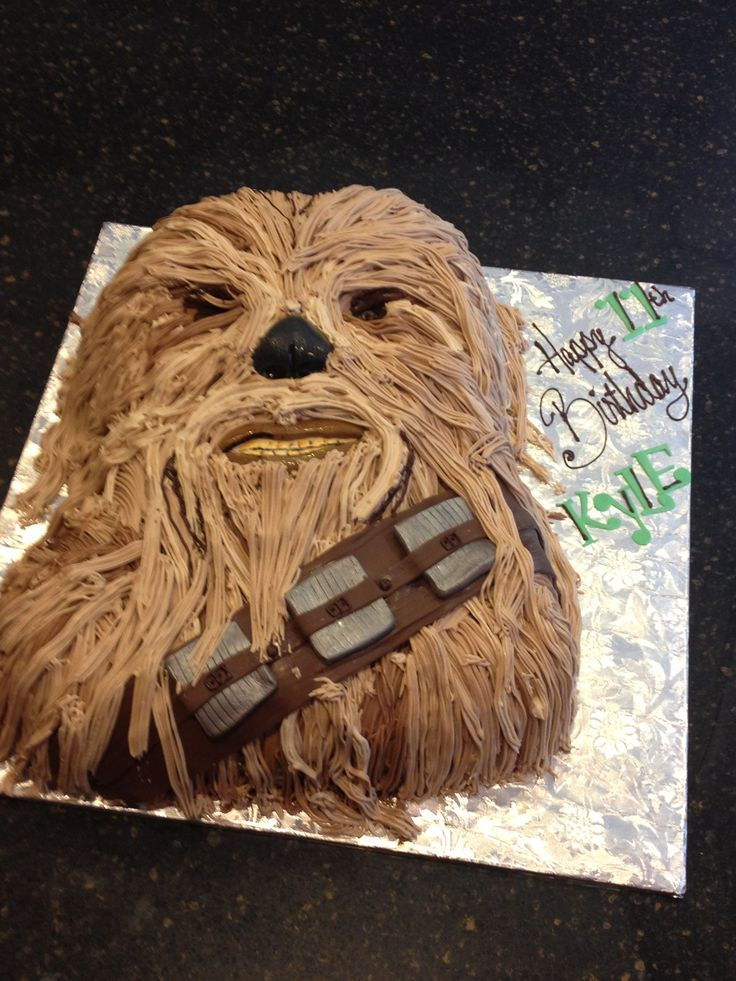 Chewbacca Cake Google Search Cakes Pinterest Cakes