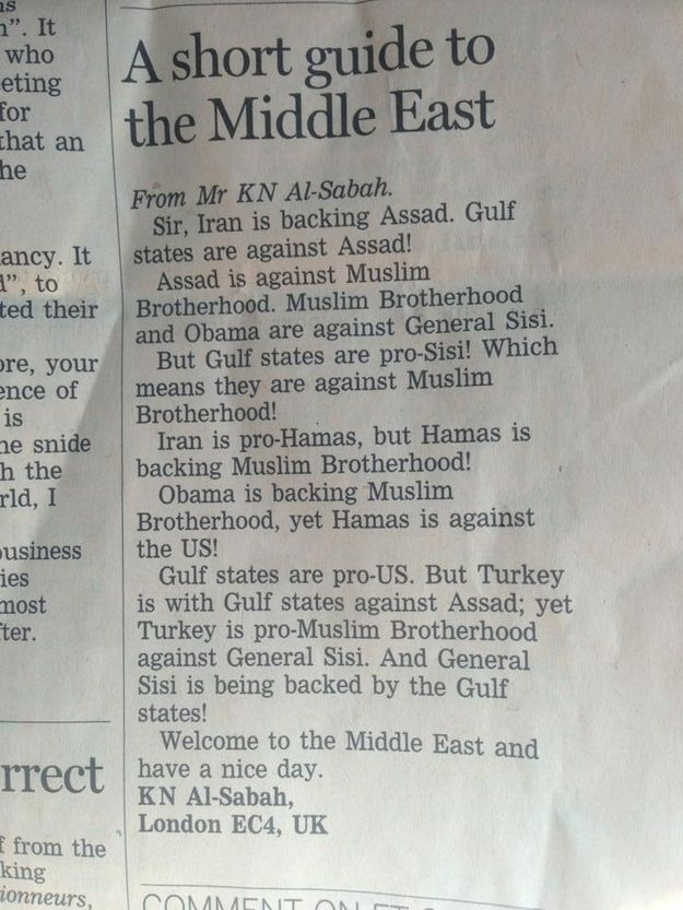 short and sweet resignation letter%0A A Short Guide to the Middle East