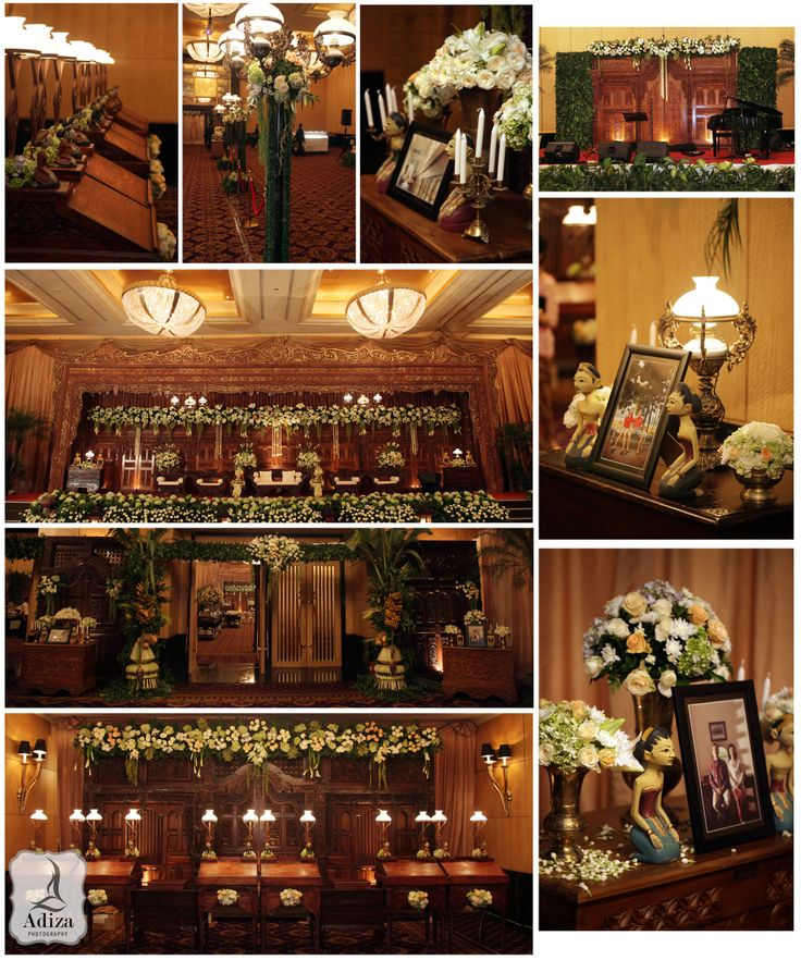 Javanese Wedding Decoration I #adizaphotography #Sultanhotel