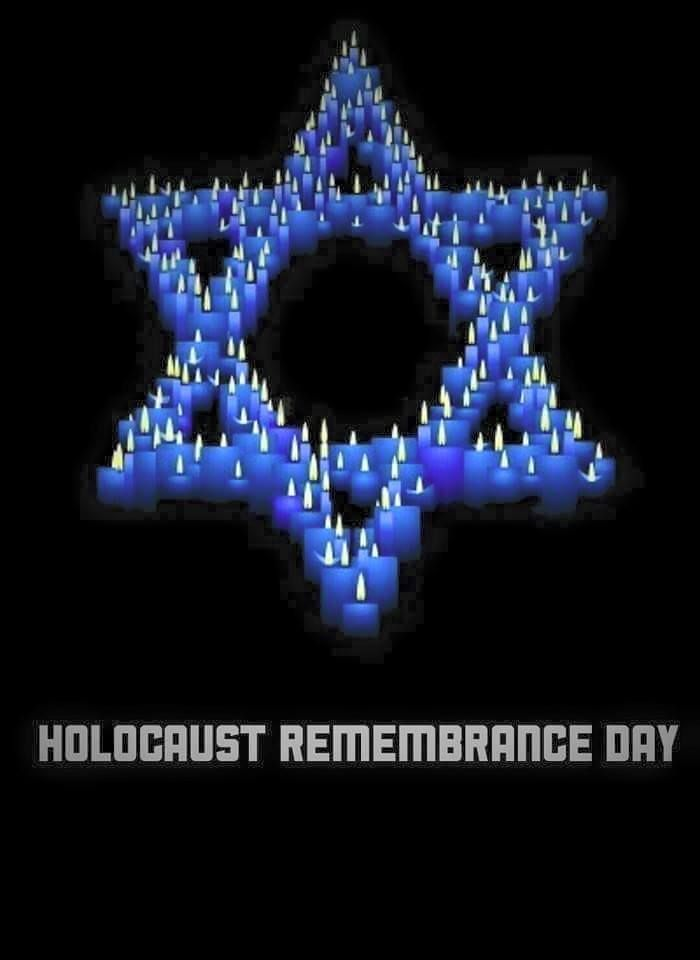 4/16/15 Jews come together to remember the 6 million Jews who perished in the Holocaust. NEVER AGAIN!
