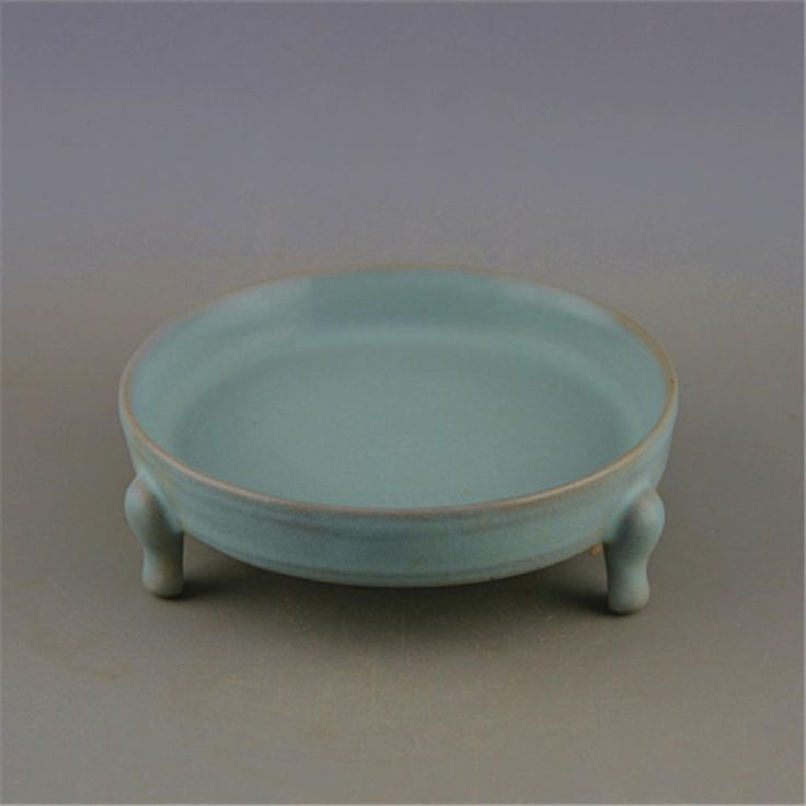 Lot: Chinese Song Dynasty Ru Ware Blue Glaze Porcelain, Lot Number: 0506, Starting Bid: $400, Auctioneer: Unicorn Antique, Auction: Antiques and Artwork  Auction for  New Year, Date: December 30th, 2017 MST