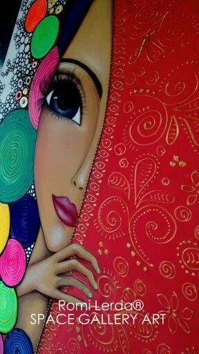 """""""Ella es única. Es original. Ella es una chica peculiar."""" / Paint FROM LERDA. ARTISTA PLÁSTICA ARGENTINA"""