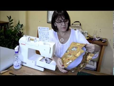 Sabor de Vida Artesanatos | Bolsa Térmica de Sementes por Amanda Lousada - 24 de Agosto de 2014 - YouTube