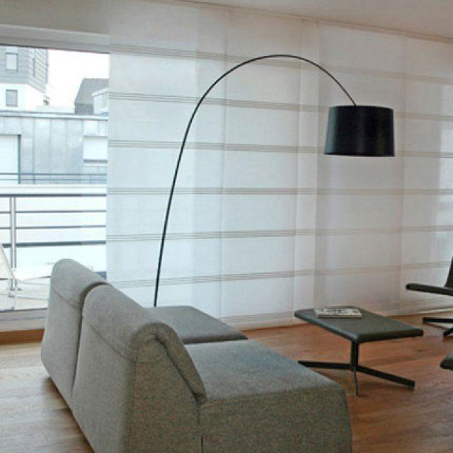 Des panneaux japonais en guise de rideaux - Marie Claire Maison                                                                                                                                                                                 Plus