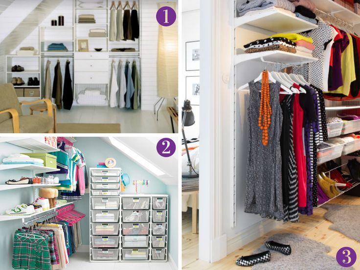 Closet For Small Spaces Part - 27: 10 Inspiring Closet Ideas. Small ClosetsRoom ...