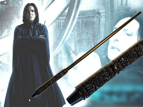 Hey, I found this really awesome Etsy listing at https://www.etsy.com/listing/94001209/professor-severus-snape-magic-wand