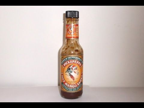 """Contemplating our Mango Sauces? Here's a YouTube review on our """"Hot Mango Sauce"""""""