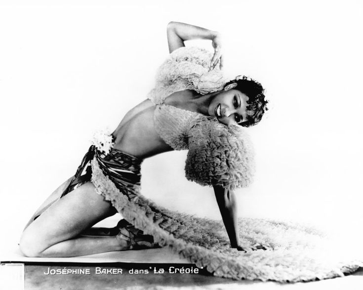 Josephine Baker starring in the three act 1875 opéra comique, December 1934 revival at the Théâtre Marigny, in the title role.